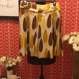 Orla Kiely Silk Skirt